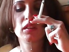 Britney Rays Smoking steamy oral fucking action