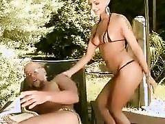 Lucky grandpa fucks hot young brunette