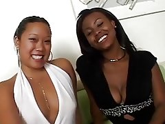 asian vs ebony