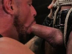 masked sex slave was bound and punished by michael roman