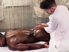 Hot son interracial sex and massage