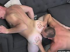 Big dick gays anal sex with facial