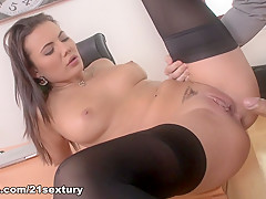 Incredible pornstars Vanessa Decker, Toby in Crazy Medium Tits, Stockings sex video