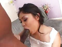 Asian and black with good hard fucking
