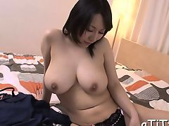 Large pantoons asian's lusty insertion