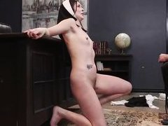 a shameless nun was punished for her sins